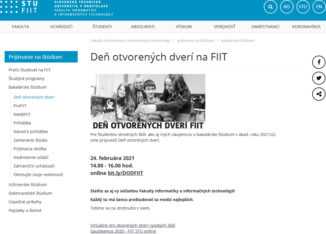 DOD 2021 FIIT STU