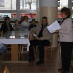 Stretnutie s vedením školy v jedálni