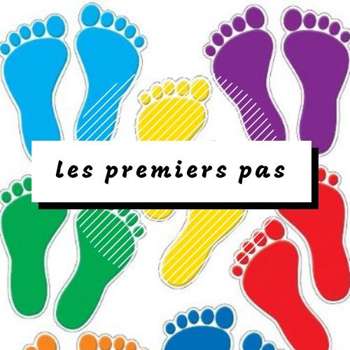 prvé kroky - les premiers pas