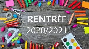 la rentrée 2020/2021 - návrat do školy v šk. roku 2020/2021